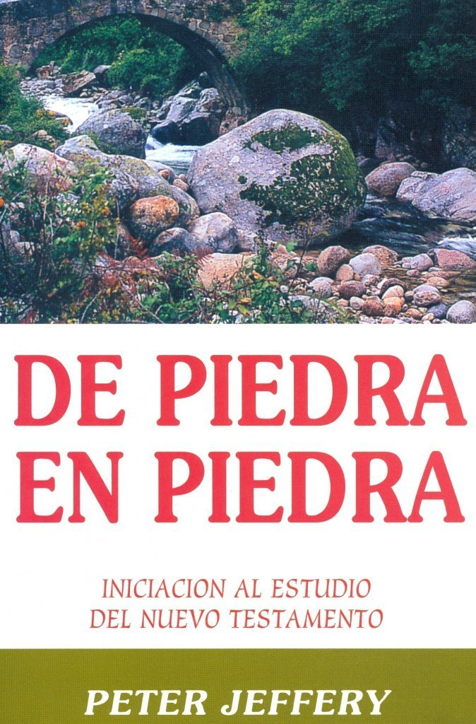 Book Cover For 'De Piedra En Piedra'