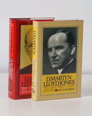 cover image for the Lloyd-Jones 2 Volume Biography by Iain Murray
