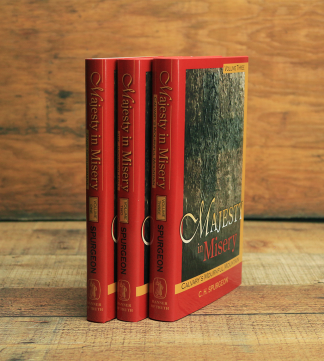 image of 'Majesty In Misery' 3 volume set by Spurgeon