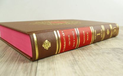 Image of Volume 1 of the Matthew Poole Commentary