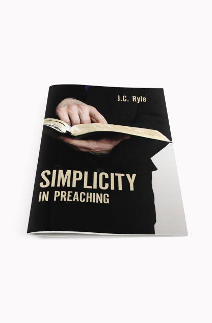 3D image of Simplicity in Preaching by JC Ryle