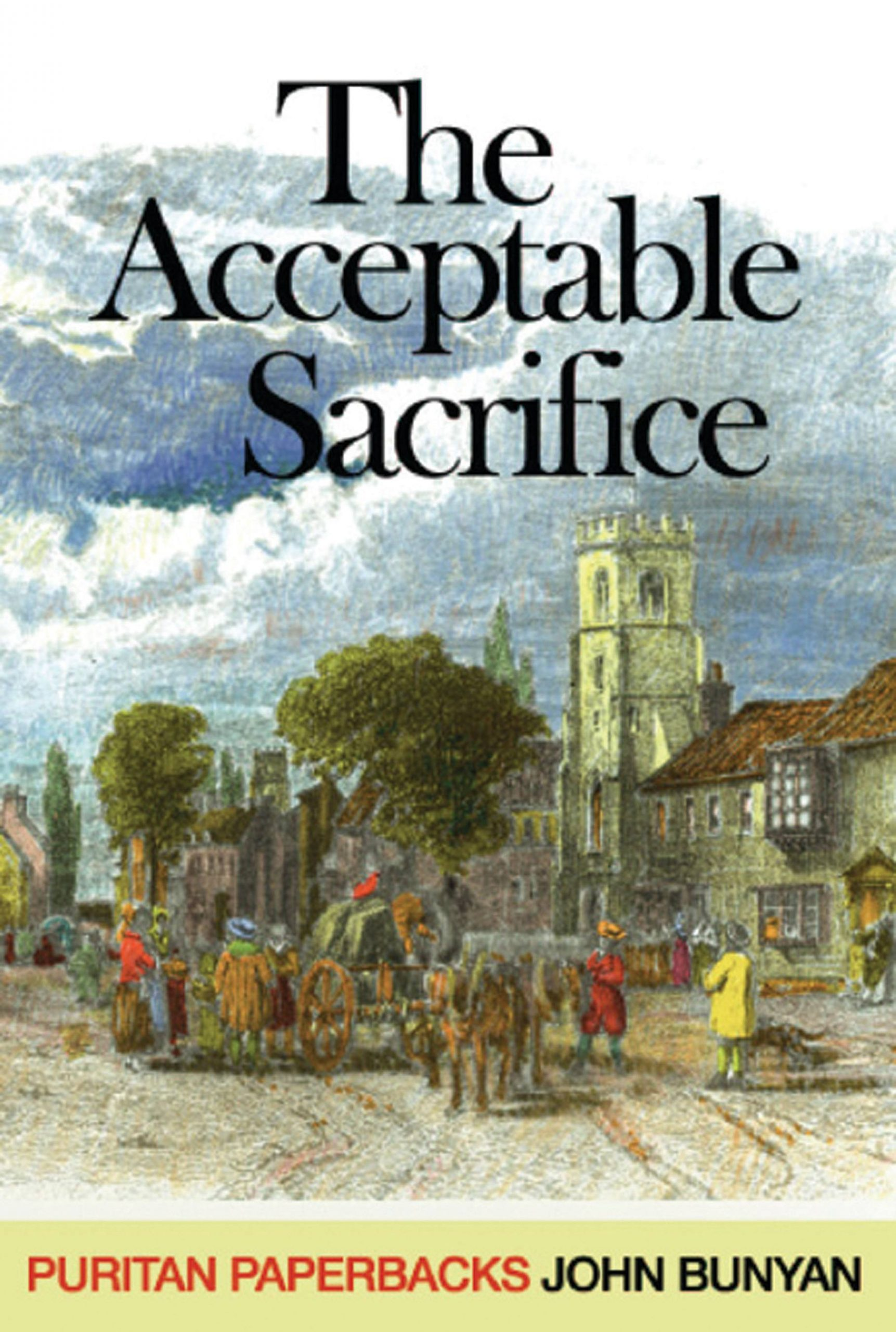 Book Cover for 'Acceptable Sacrifice'