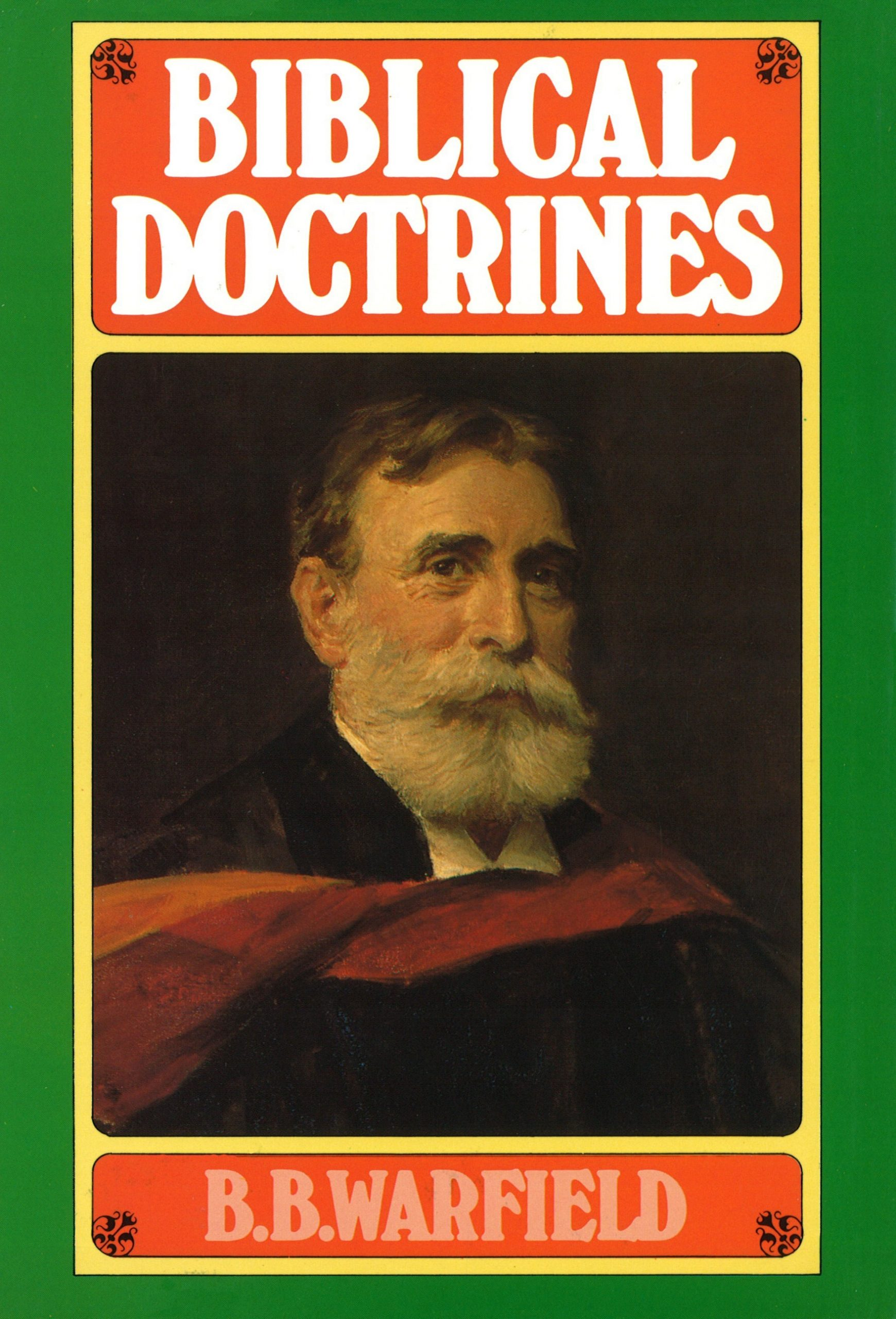 Book Cover For Biblical Doctrines