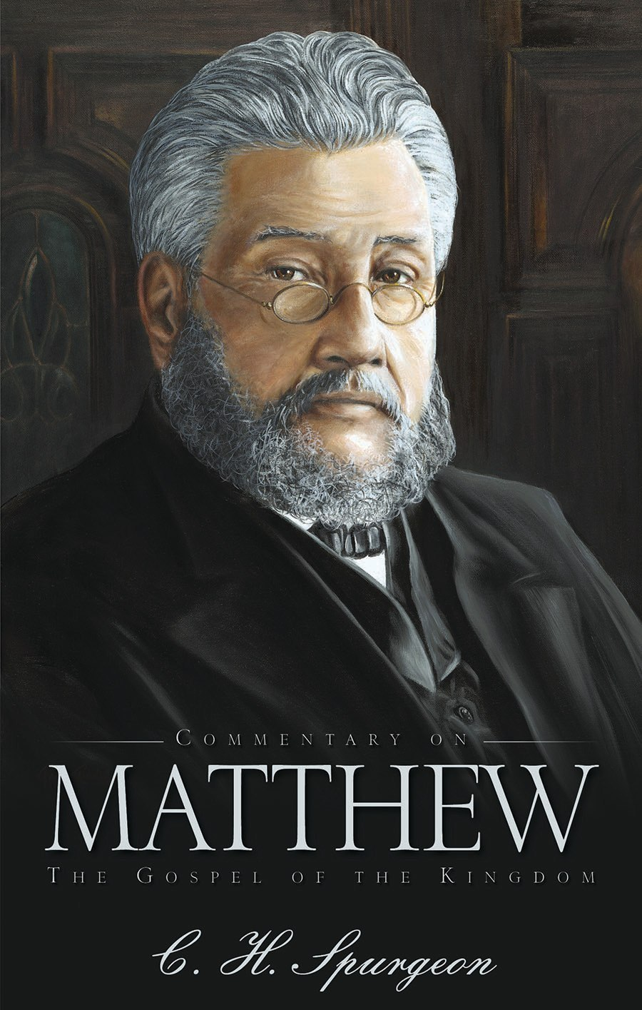 Book Cover For 'Commentary on Matthew'