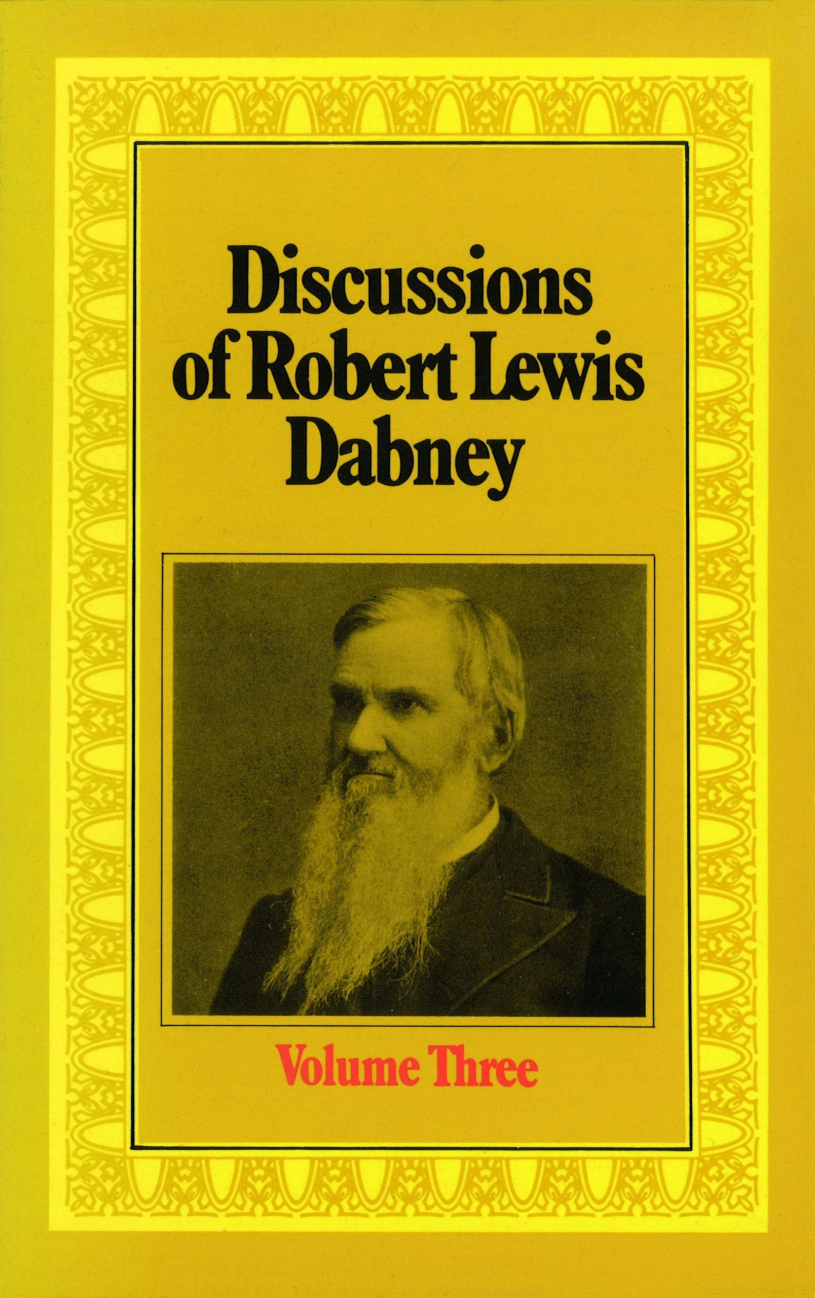 Book Cover For 'Discussions of R L Dabney'
