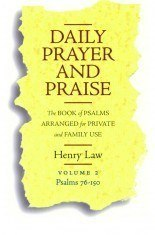 Book Cover For 'Daily Prayer and Praise'