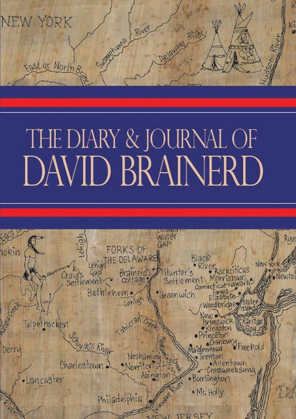 Book Cover For 'Diary and Journal of David Brainerd'