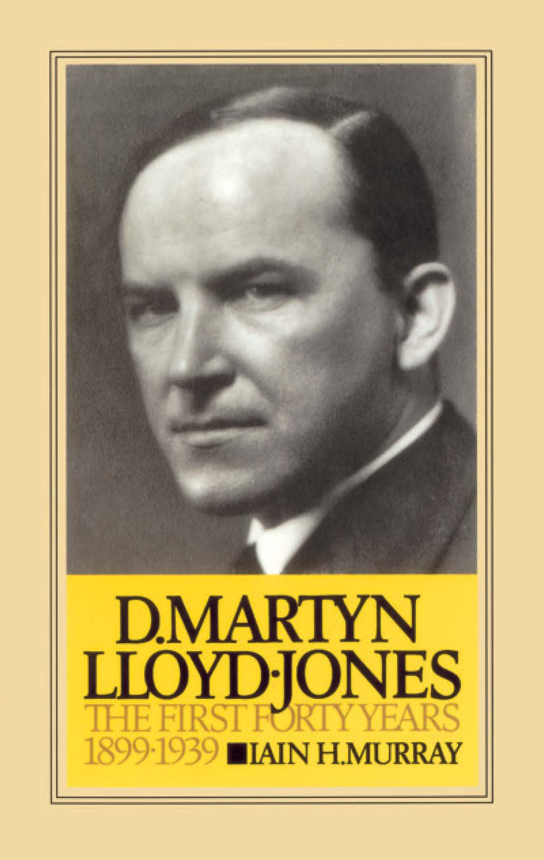 Book Cover For 'Life of D Martyn Lloyd-Jones'