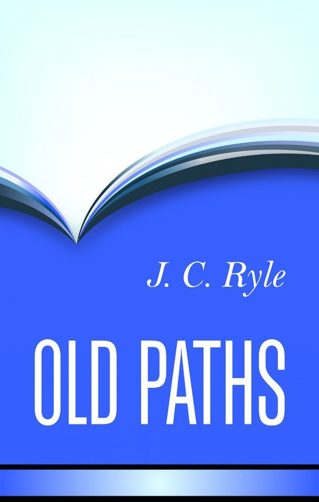 Book cover for 'Old Paths'