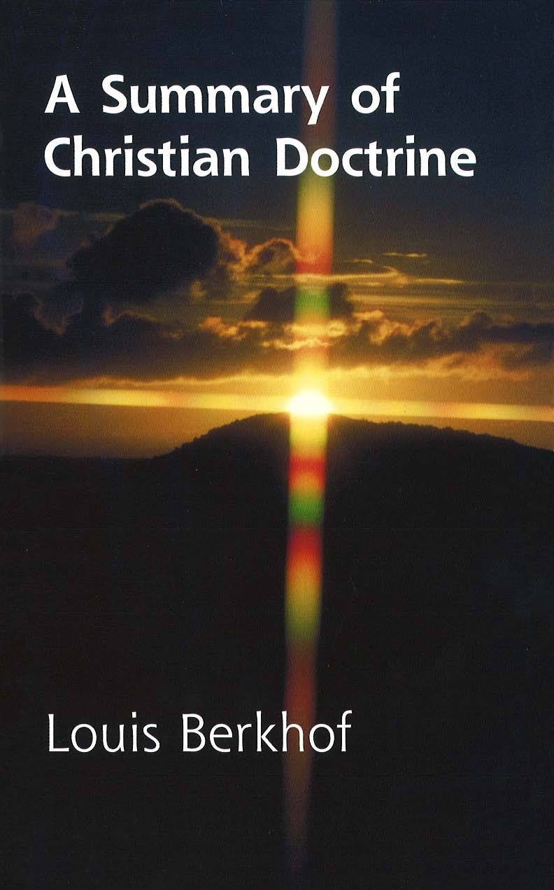 Book Cover for 'A Summary of Christian Doctrine'