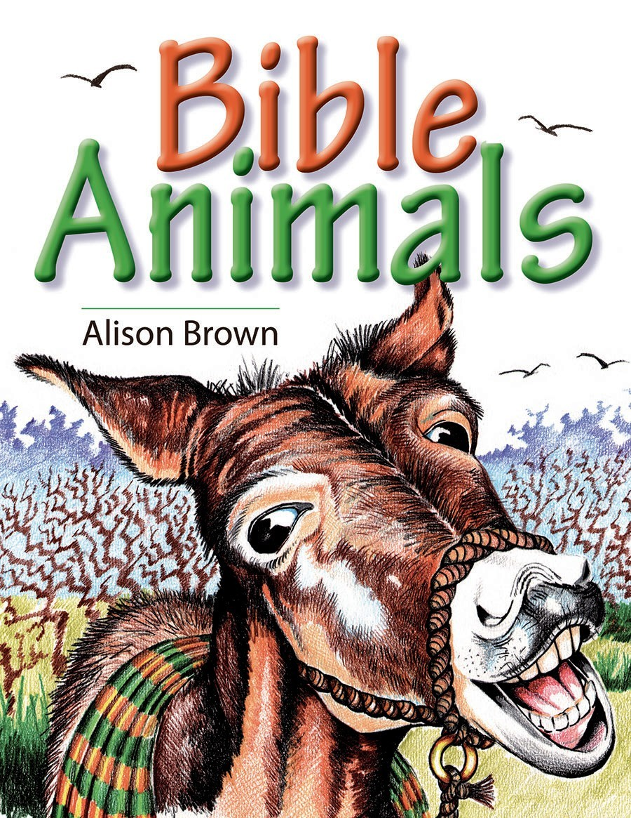 Book Cover For Bible Animals