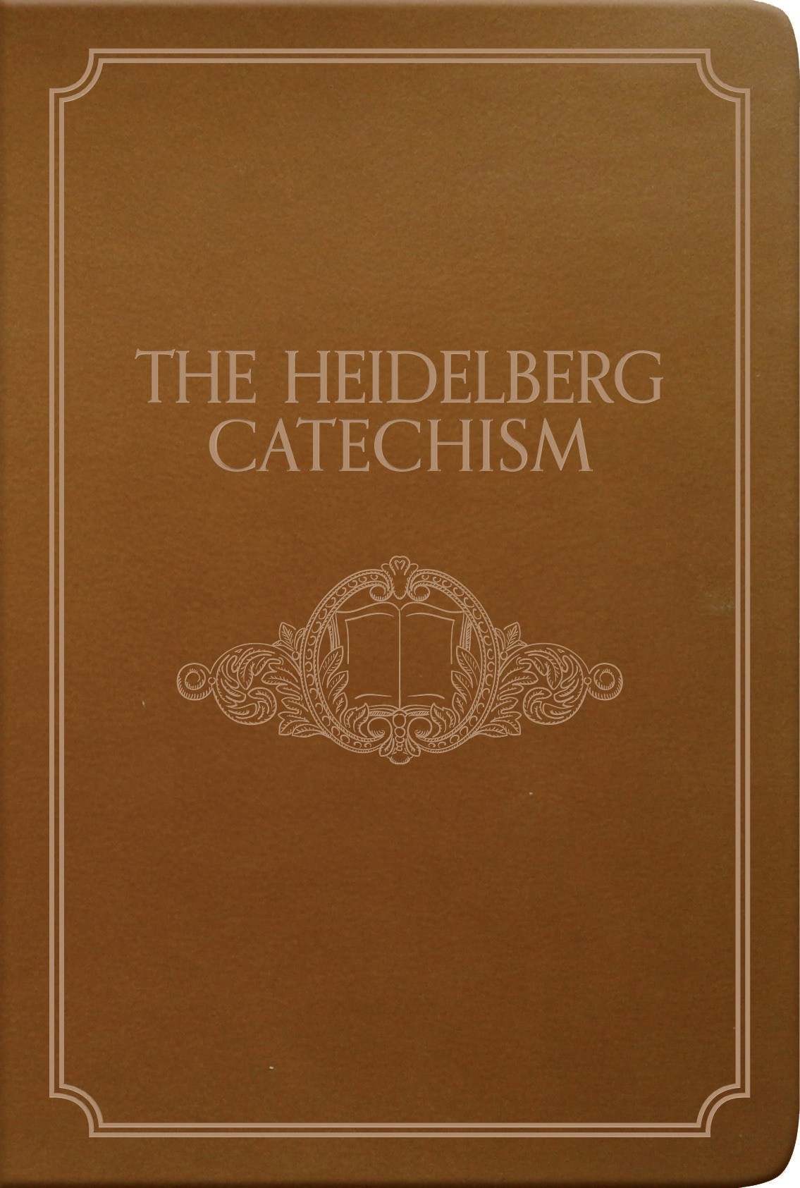 Book cover graphic for Heidelberg Catechism gift edition