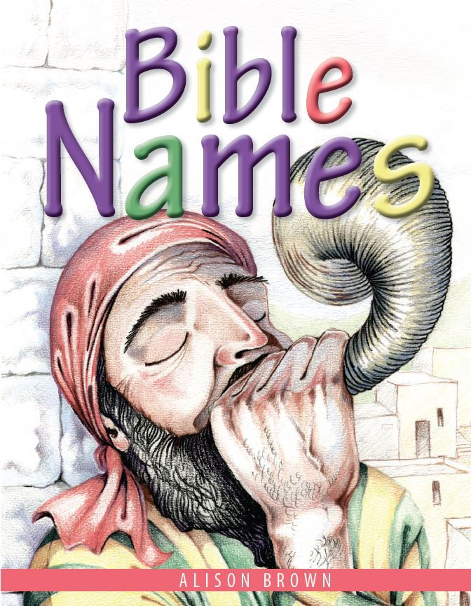 cover image for Bible Names