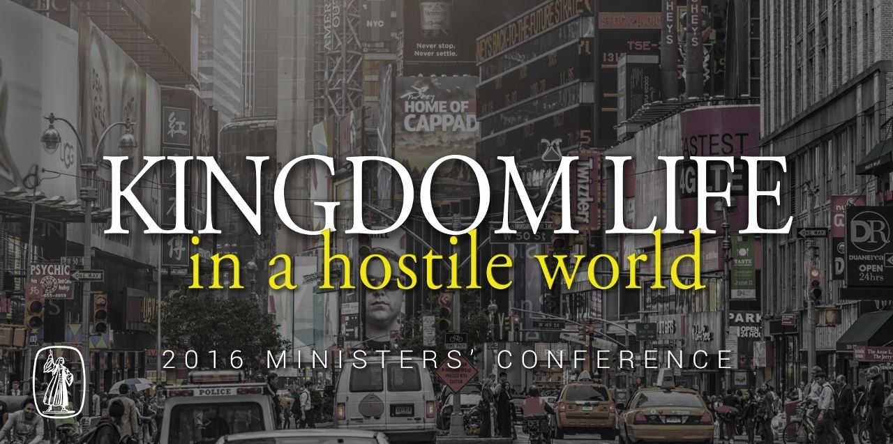 2016 Ministers' Conference Banner