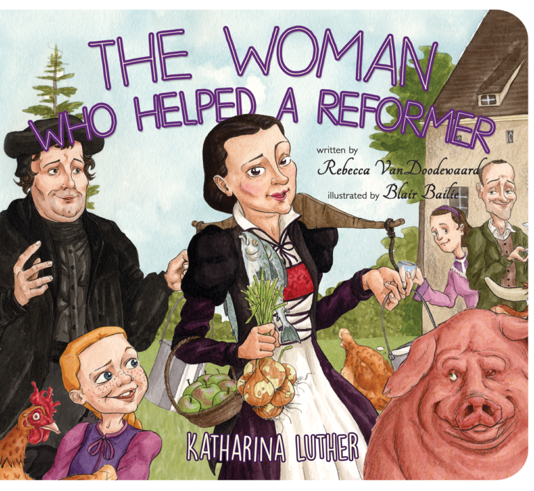 cover image for The Woman Who Helped a Reformer about Katharina Luther