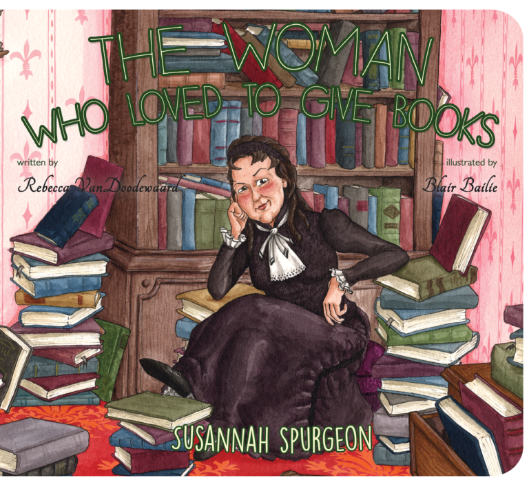 cover image for The Woman Who Love to Give Books about Susannah Spurgeon