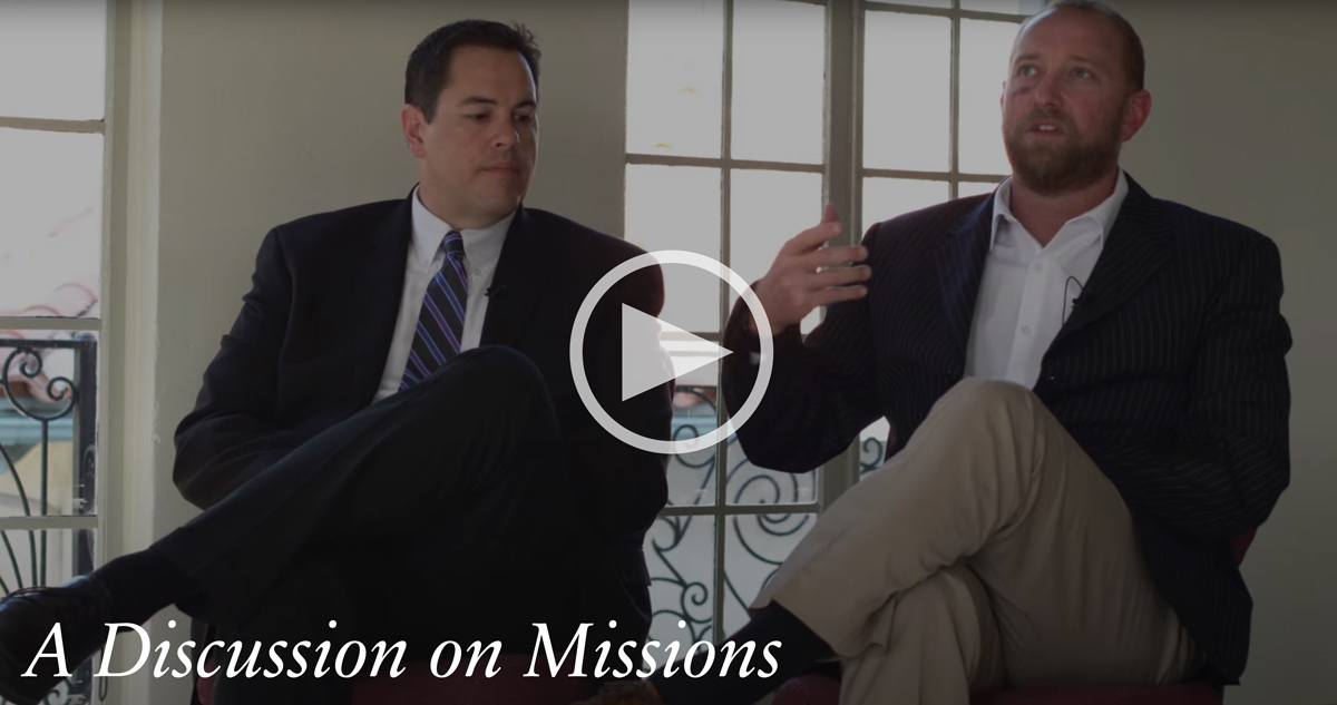 A Discussion on Missions width=
