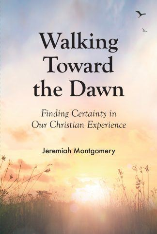 """image of the booklet """"walking toward dawn"""""""