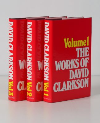 Image of the Works of David Clarkson 3 Volume Set