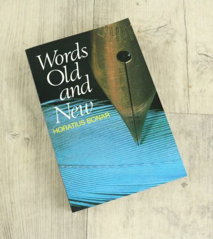 image of words old and new by Horatius Bonar