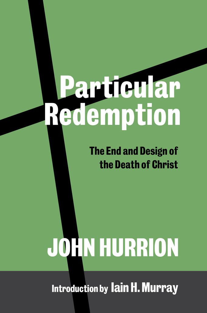 cover image for particular redemption by John Hurrion