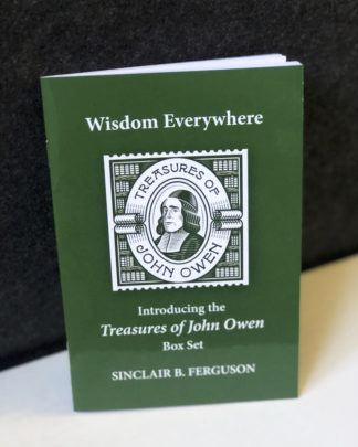 image of the the booklet for the Treasures of John Owen box set